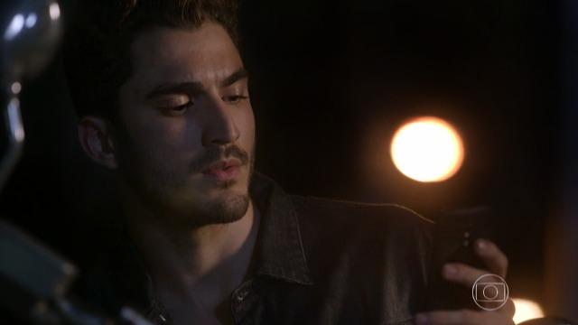 Alan mostra que está vivo ao receber mensagem de Duca