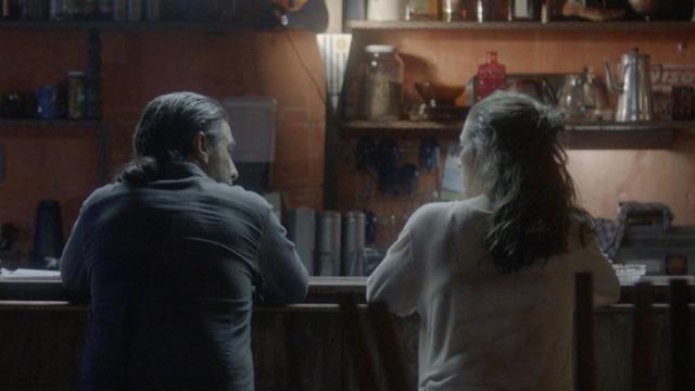 O Avental Rosa conta a história de Alice, uma mulher nos seus 50 anos, solitária e com dificuldades financeiras, que cuida de pacientes terminais. Alice trabalha como acompanhante em um hospital de luxo, onde ganha seu dinheiro, e como voluntária em hospitais pobres, onde dedica, sem ganhos, seu amor e compaixão