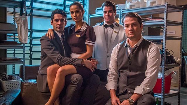 'Pega Pega' vai mostrar como o roubo de 40 milhões de dólares do cofre de um hotel cinco estrelas, praticado por quatro funcionários, afeta a vida de todos os personagens.