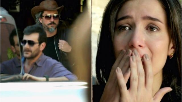 Cora descobre que José Alfredo está vivo, surta e quebra o bar do Manoel