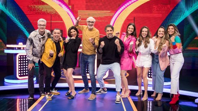 Juliana Paiva, Marcos Caruso, Babu Santana e Chay Suede são os convidados desta semana no 'Caldeirão'