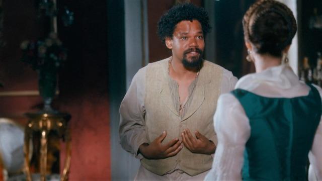 Samuel fica arrasado com a ida de Pilar para o exterior