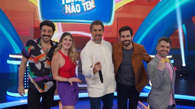 Dani Calabresa, Welder Rodrigues, Cleo Pires e Sergio Loroza estão no 'Caldeirão'