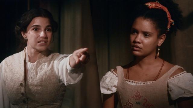 Pilar tem ataque de fúria e dá um tapa em Zayla: 'Você quer ver o Samuel morto?'