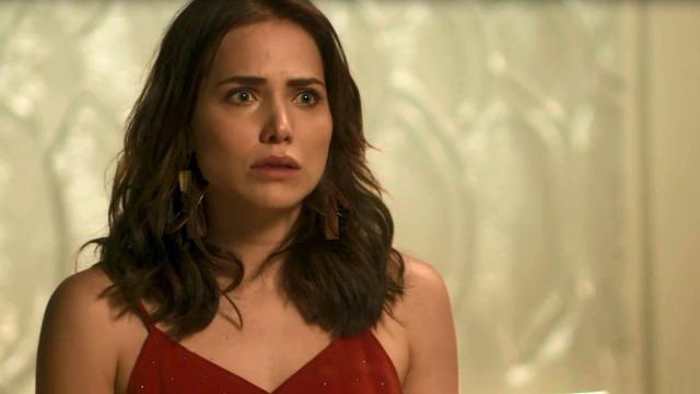Rosa conta a Laureta que está grávida