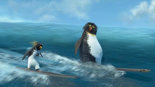 O jovem pinguim saltador-de-rocha, Cadu Maverick, um surfista promissor participa de seu primeiro campeonato profissional. Seguido de perto por uma equipe de filmagem que documenta suas experiências, Cadu deixa sua família e sua casa no frio de janeiro, Antártica, e viaja rumo à ilha Pingu para participar do campeonato de surfe Big Z. Ele acredita que a vitória lhe trará o respeito e a admiração que ele tanto deseja.