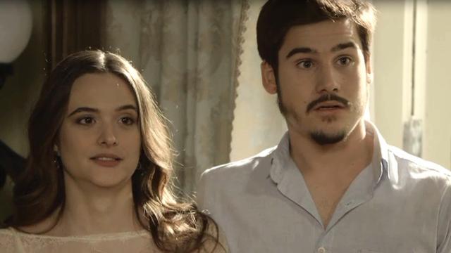 Agustina avisa a Carmen que não irá ao casamento de Marocas se ela estiver presente