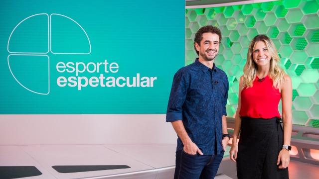 Bárbara Coelho assume a apresentação ao lado de Felipe Andreoli