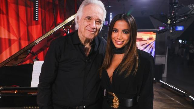 Maestro João Carlos Martins se despede da carreira de pianista no palco do 'Fantástico'