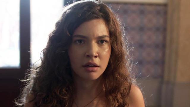 Rita surpreende Lígia e Joaquim em batismo de Nina