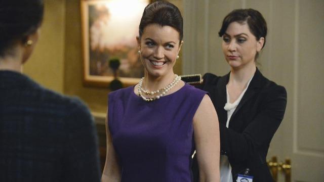 Episódio 'Está tudo vindo Mellie': Mellie dá uma entrevista bombástica para reverter a opinião pública.