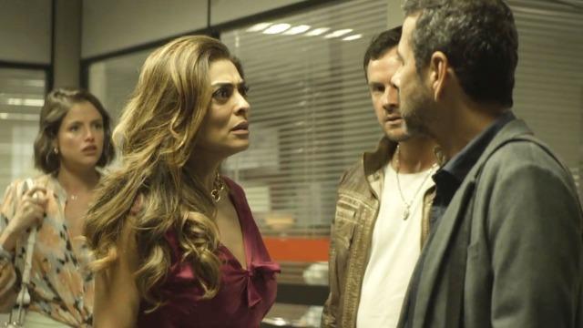 Amadeu surpreende Maria da Paz após prisão de Rael