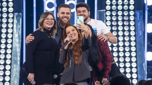 As apresentadoras Maiara & Maraisa recebem a cantora Marília Mendonça, o cantor Pablo, a dupla Zé Neto & Cristiano, a cantora Olívia e o cantor Beto Barbosa.