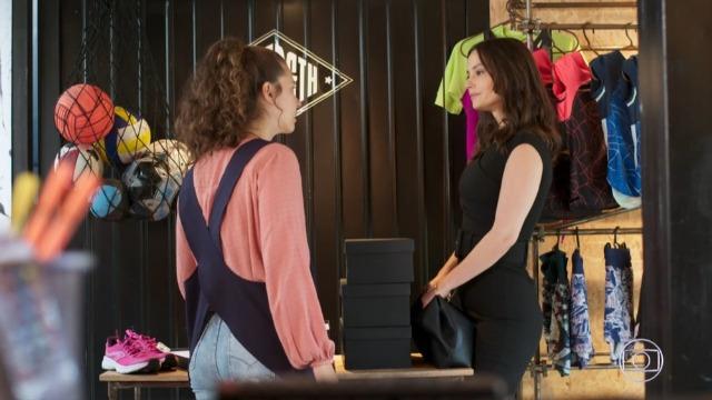 Lara manda Leila separar Filipe de Rita.