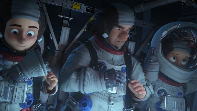 Richard Carson III, um milionário ganancioso, quer colonizar a Lua. Ele pretende apagar todos os vestígios dos feitos dos astronautas da Apollo XI para poder explorar o Hélio-3, a energia limpa do futuro, em benefício próprio. Para impedi-lo, a presidenta dos Estados Unidos ordena que a Nasa organize o quanto antes uma nova viagem à Lua, de forma a assegurar os feitos do passado e impedir a exploração comercial do satélite. Como não há tempo de construir uma nova nave espacial, um foguete de 40 anos atrás é reaproveitado e, como ninguém sabe operá-lo, vários astronautas do passado são convocados a ajudar nesta nova empreitada. É a chance ideal para que Mike Goldwing, um garoto de apenas 12 anos, possa se reaproximar do seu pai, o atual astronauta Scott Goldwing; e de seu avô, Frank, que abandonou a família após uma missão fracassada.