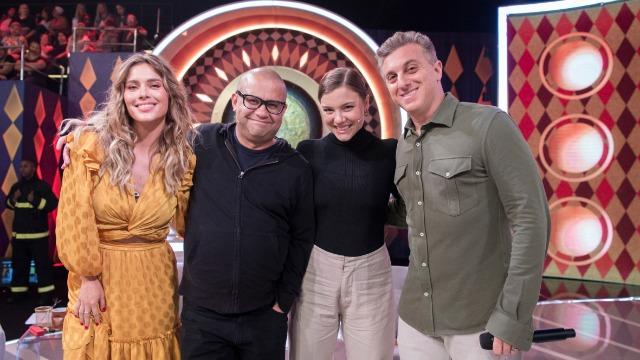 Carolina Dieckmann, Alice Wegmann e Welder Rodrigues estreiam no júri do 'Gonga la gonga'.