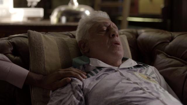Penúltimo capítulo: Alberto pede para morrer em casa.
