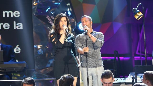Laura Pausini, Fábio Jr. e o tenor Jean William emocionam a noite de sábado.