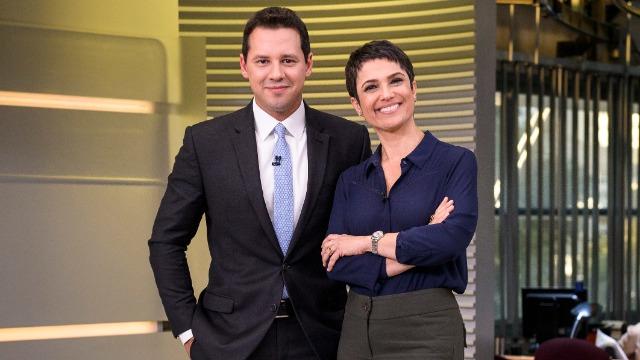 Os destaques do dia no Brasil e no mundo, com apresentação de Sandra Annenberg e Dony De Nuccio