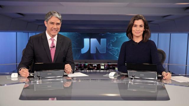 As principais notícias do Brasil e do mundo, com apresentação de William Bonner e Renata Vasconcellos.