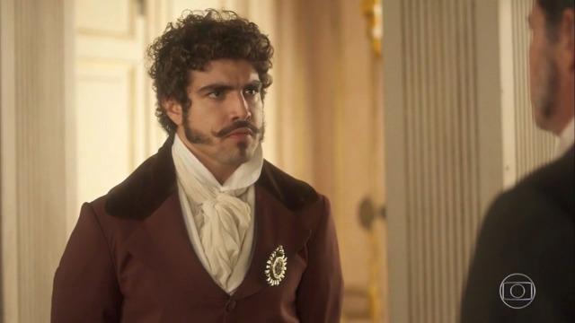 Com ciúmes de Leopoldina, Dom Pedro faz escândalo