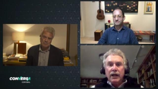 Pedro Bial conversa com David Quammen, autor que alertou sobre epidemia há oito anos. Cientista Stevens Rehen também participa da entrevista, que vai ao ar nesta quinta-feira, dia 28