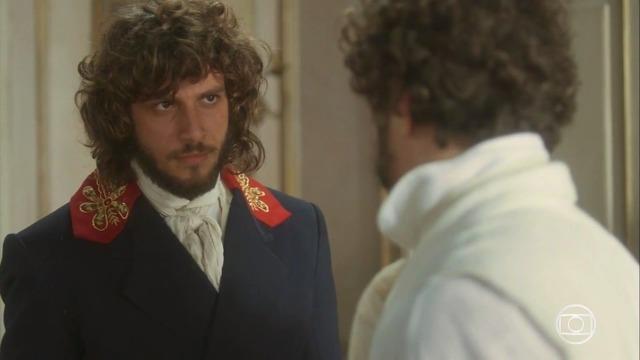Joaquim alerta Dom Pedro: 'Domitila está a serviço de Thomas, eles são cúmplices'