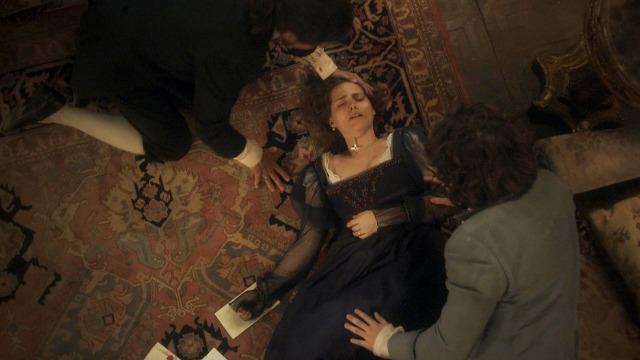 Leopoldina fica em estado de choque ao ler as cartas de Dom Pedro a Domitila