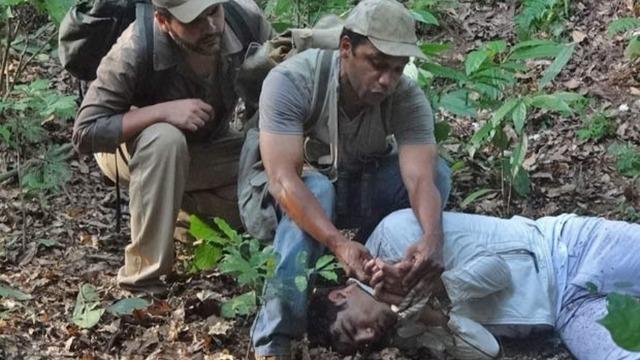 Antenor é encontrado com vida em matagal