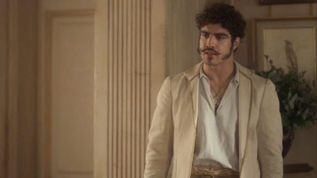 Dom Pedro flagra Leopoldina e Bonifácio em momento íntimo
