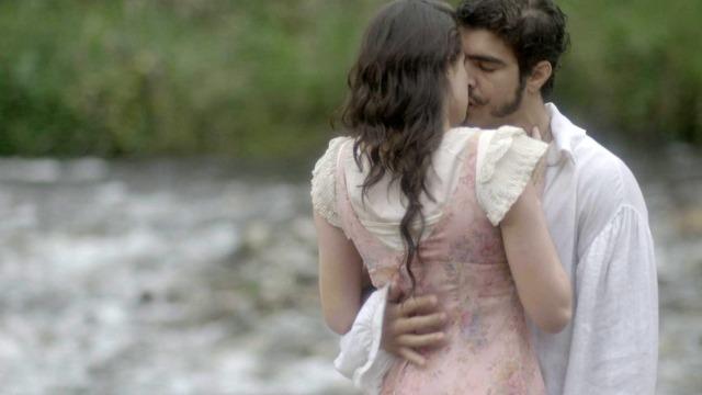 Domitila e Dom Pedro reatam romance