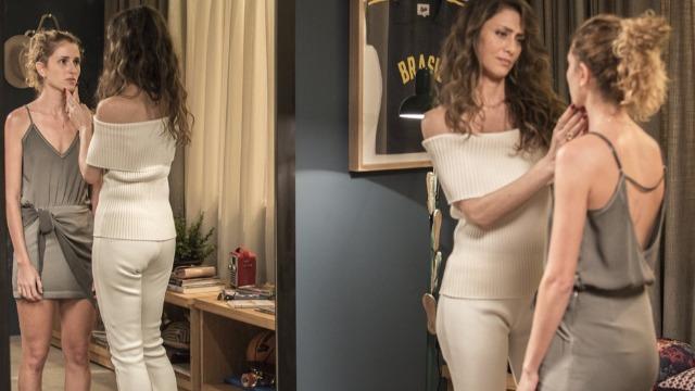 Ivana desiste de encontro com Cláudio depois de pressão de Joyce