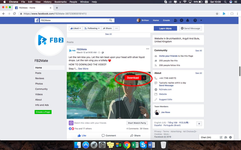 facebook video downloader - fb2mate