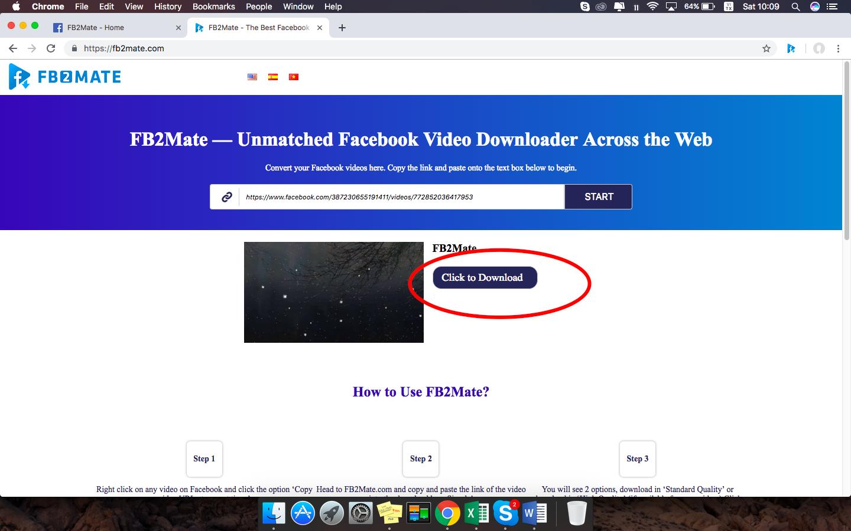 download video facebook - fb2mate