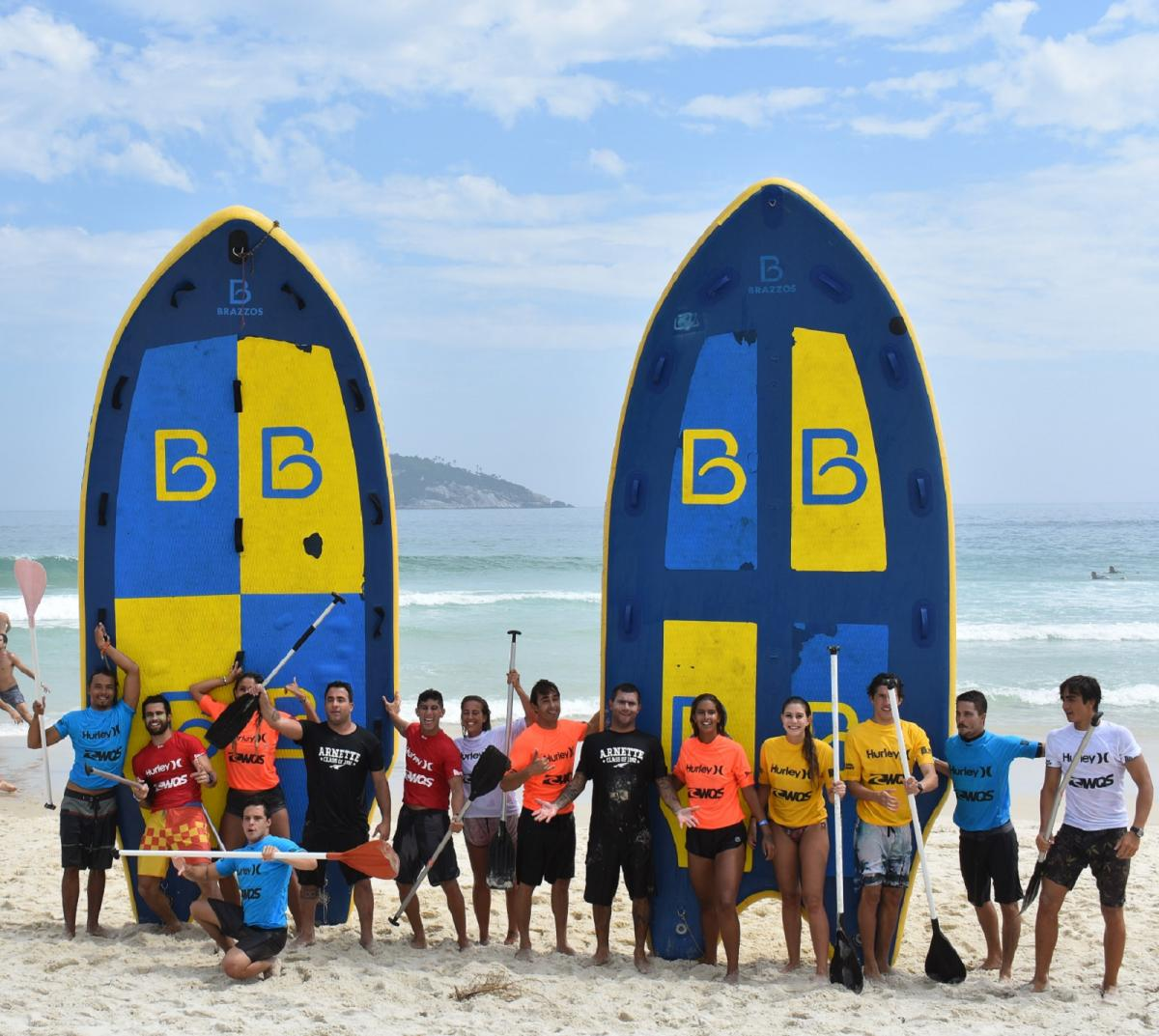 Equipes do Big Sup. Foto: Patrick Villaça.
